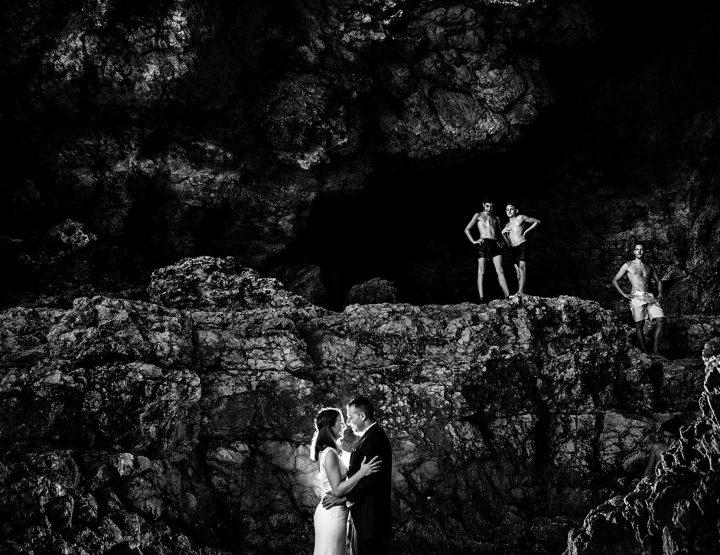 Postboda en el mar- Cueva Denia