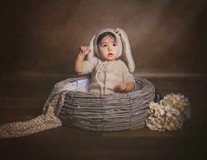 Sesión Fotografía de bebé en Toledo