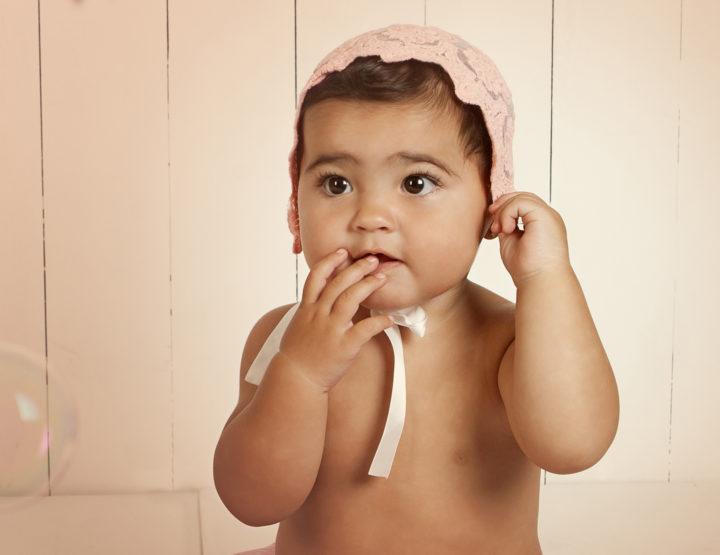 Seguimiento del primer año del bebé- Fotógrafo Toledo