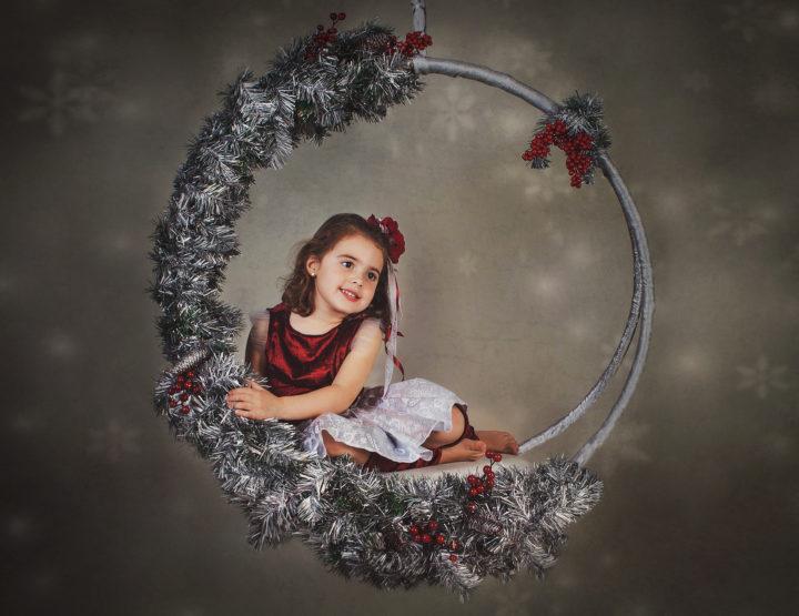 ¡ Ya está aquí nuestra Navidad! Sesión de fotos Navidad Niños en Toledo