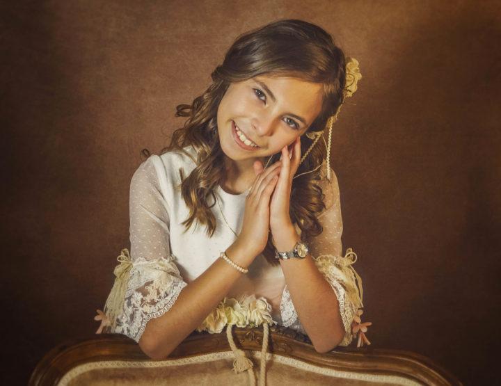Reportaje de Comunión de niña en Toledo