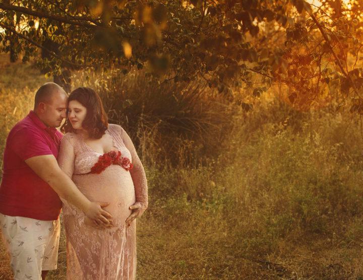 Fotos en embarazo en Toledo- Esperando a Martín