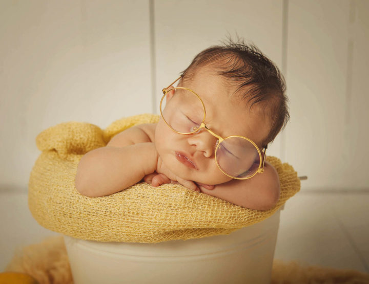 Fotos de recién nacido en Toledo- Martín
